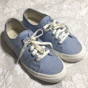 Sky blue Ralph Lauren sneakers